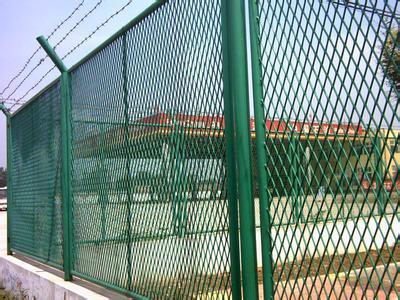 菱形孔钢板网护栏